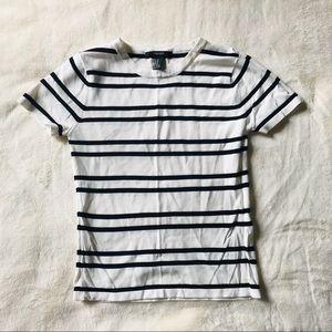 Knitted Short Sleeve T-Shirt